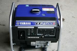 2500W インバーター発電機は、模擬店で活躍